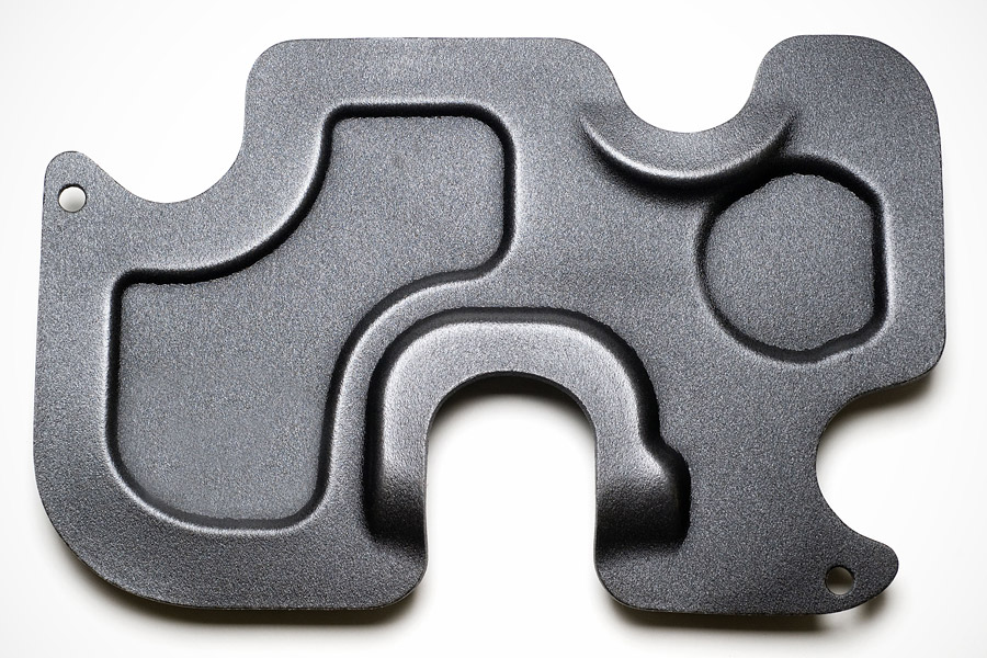 Foam part with butyl seals (for rough substrates) (2)