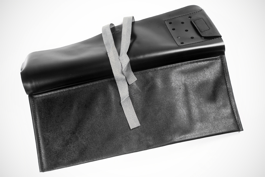 Roll-up tool bag made of PVC