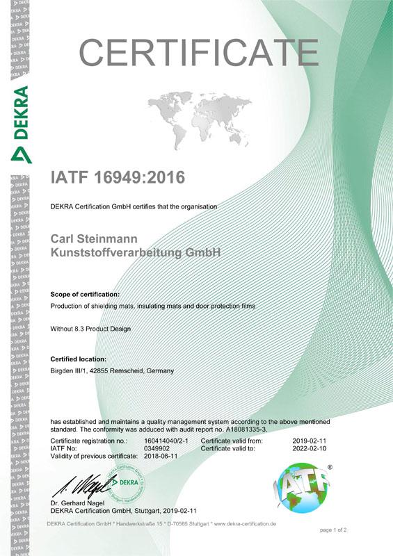 Zertifikat ISO_TS 16949 Englisch-1